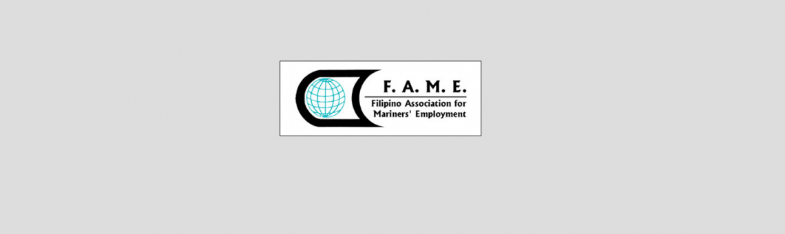 Epsilon's Membership in the Filipino Association for Mariners' Employment Inc. (FAME) – December 2017