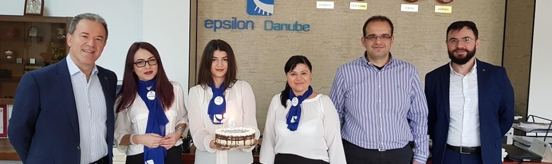 Top Management  Visit Epsilon Danube – November 2017