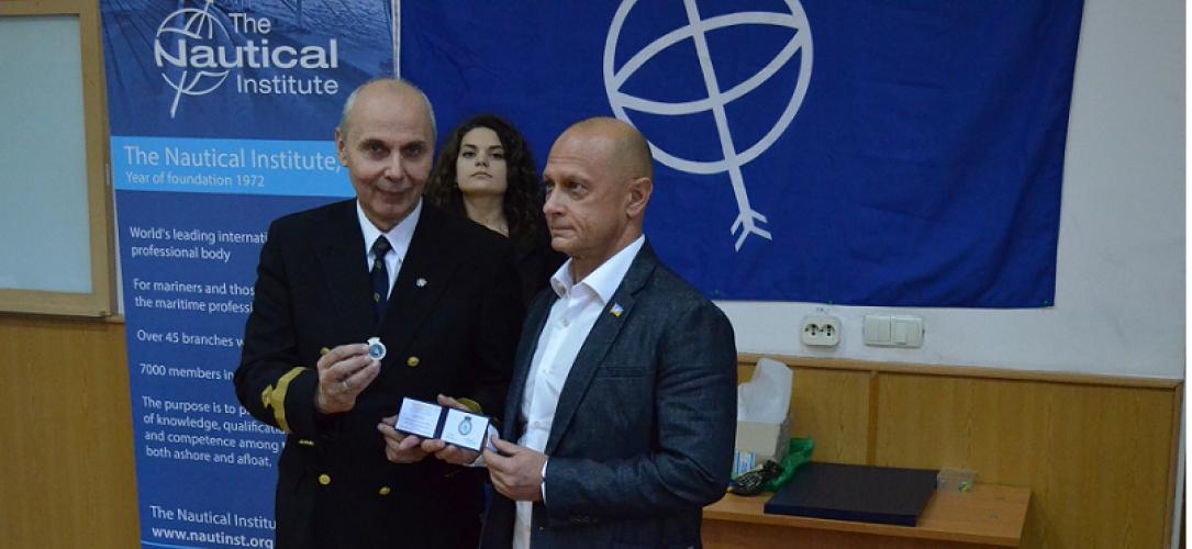 Nautical Institute Visit – 16 October 2015