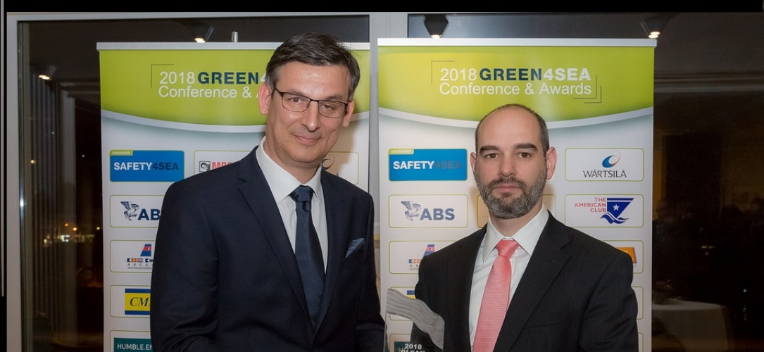 ARISTA SHIPPING – GREEN4SEA CLEAN SHIPPING AWARD MARCH 2018