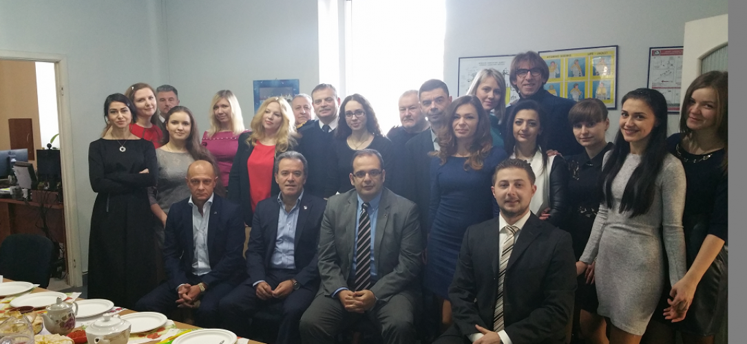 Epsilon Hellas Top Management Visit Epsilon Odessa – March 2016