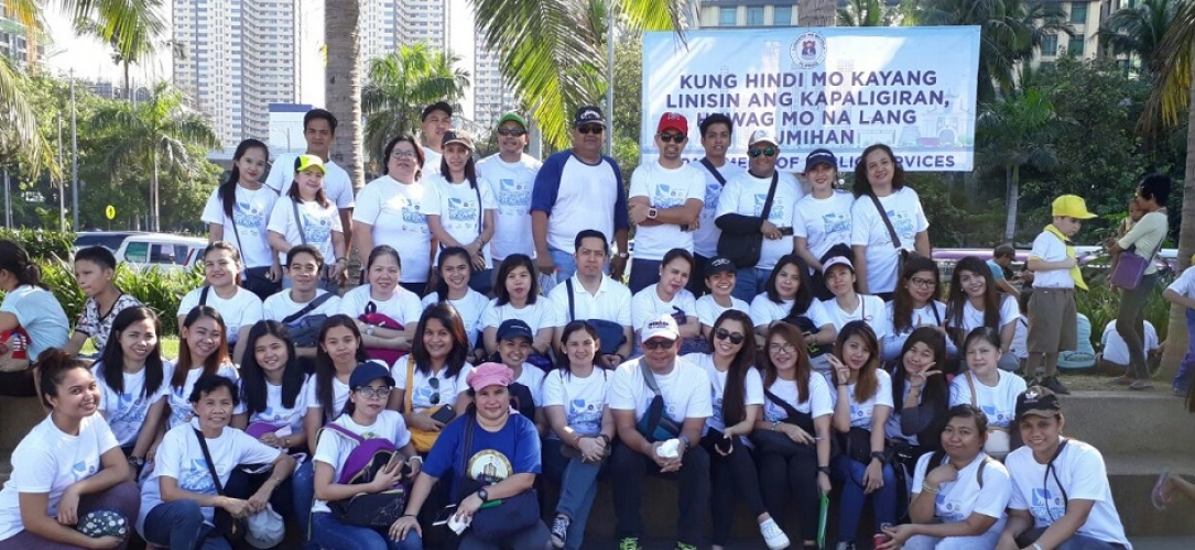 Epsilon Manila joins the 32nd International Coastal Cleanup