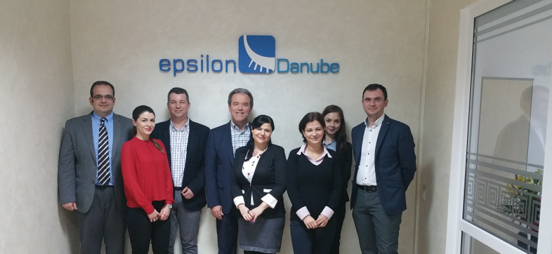 Epsilon Hellas Top Management Visit Epsilon Danube – March 2016