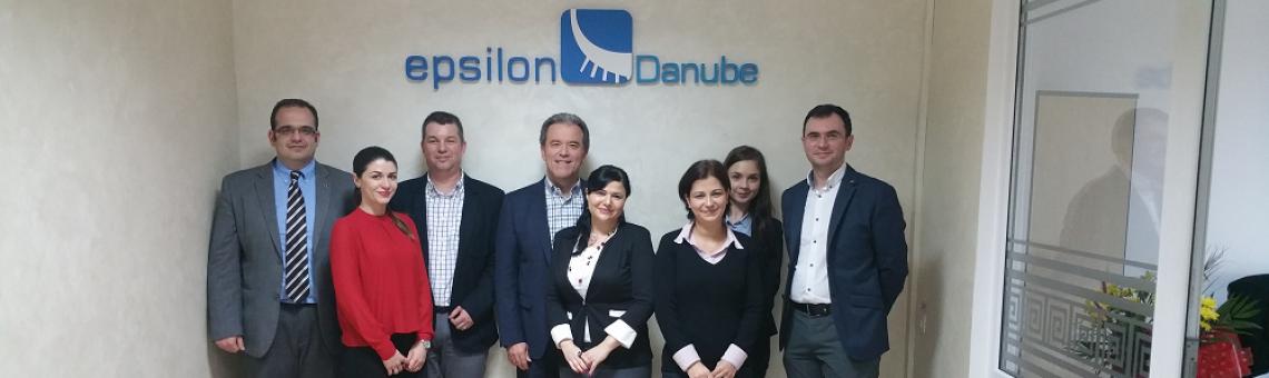 Epsilon Hellas Top Management Visit Epsilon Danube – March 2016