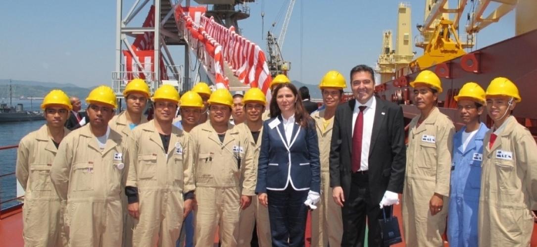 Inauguration of Alkyoni SB – 16 May 2014
