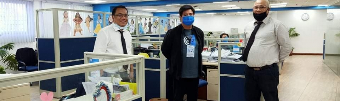 EMSI & KJCM (part of Epsilon Group) donate masks to the Philippine Overseas Employment Administration (POEA)